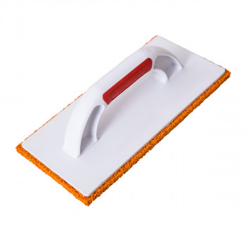 Spreading board with orange rubber sponge