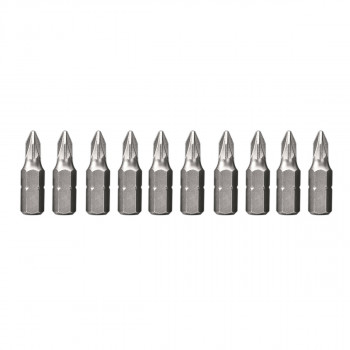 Screwdriver bit PZ1 10pcs