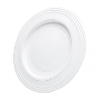 Rosette white ø130