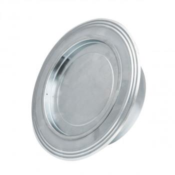 Rosette zinc plated ø130