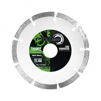 Segmented diamond cutting disc, ø125mm