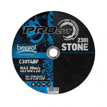 Cutting disc for stone, ø230x3mm