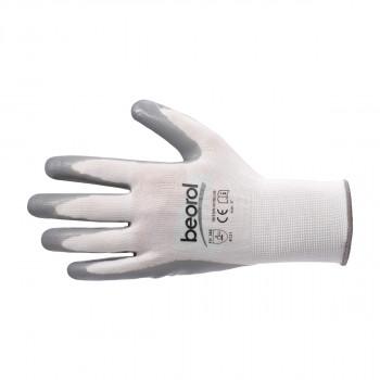 Triton-nitrile glove