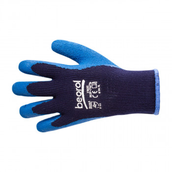 Dip-coated winter gloves