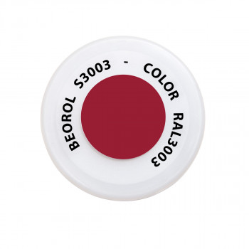 Spray paint red Rubino RAL3003