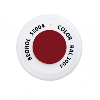 Spray paint Red Porpora RAL3004
