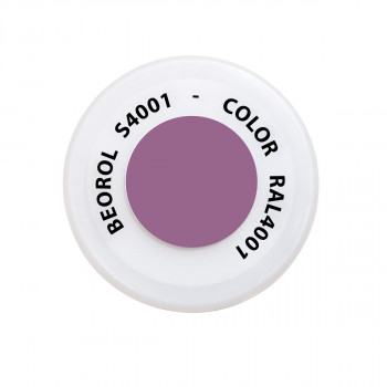 Spray paint purple Lilla Rosso RAL4001