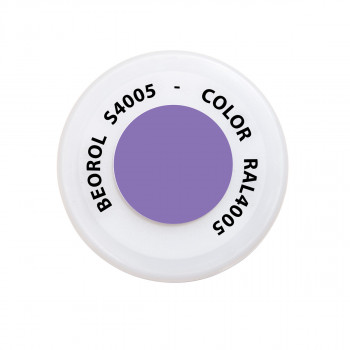Spray paint purple Bluastro RAL4005