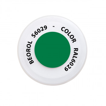 Spray paint green Verde RAL6029