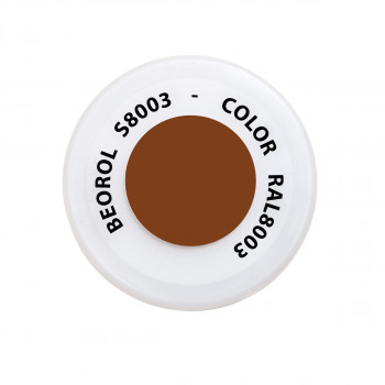 Spray paint brown Castagna RAL8003