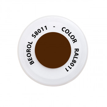 Spray paint brown Noce RAL8011