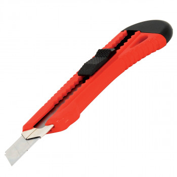 Utility knife, 18mm with metal jacket