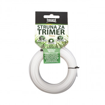 Trimmer line round 3.0mm 15m