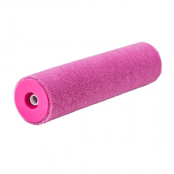 Paint roller Pink Mohair 23cm ø8 charge