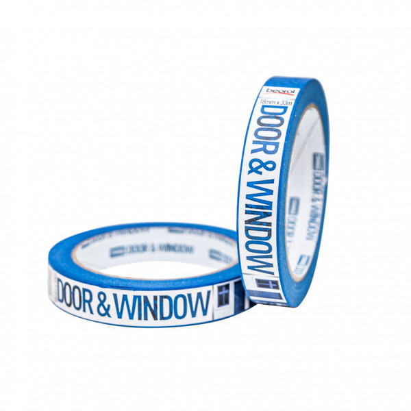 Masking tape Door & Window protection 18mm x 33m, 80ᵒC