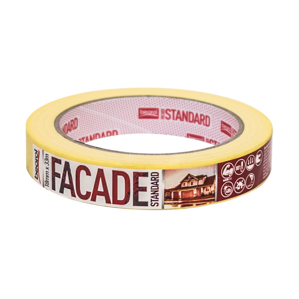 Masking tape Facade Standard 18mm x 33m, 80ᵒC