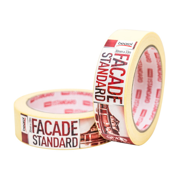 Masking tape Facade Standard 30mm x 33m, 80ᵒC