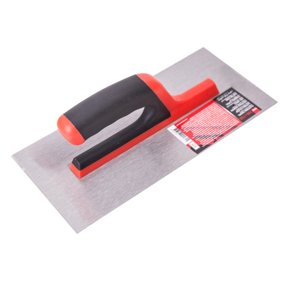 Plastering trowel rubber-plastic handle 280x130mm