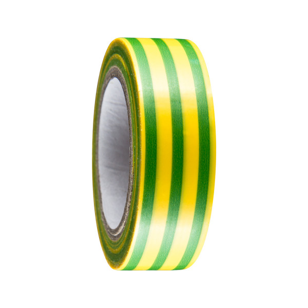 Insulate tape 19mm x 10m, yellow-green