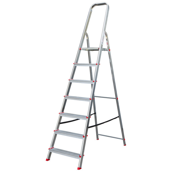 Aluminium ladder 6 steps