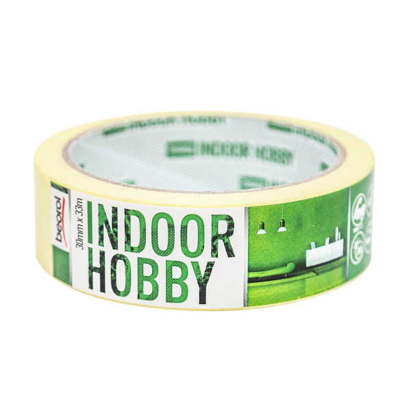 Masking tape Indoor Hobby 30mm x 33m, 60ᵒC