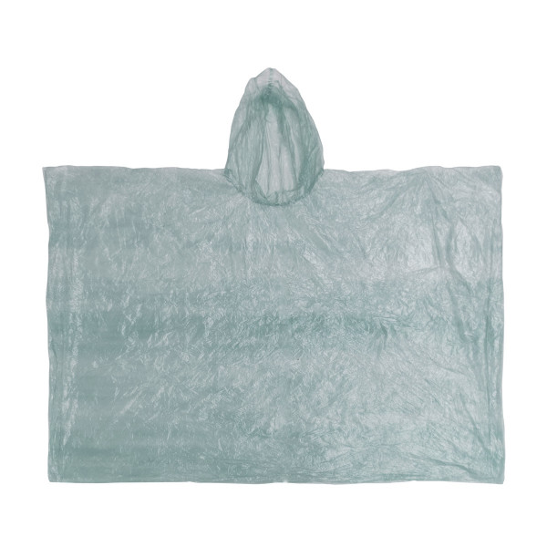 Poncho, transparent