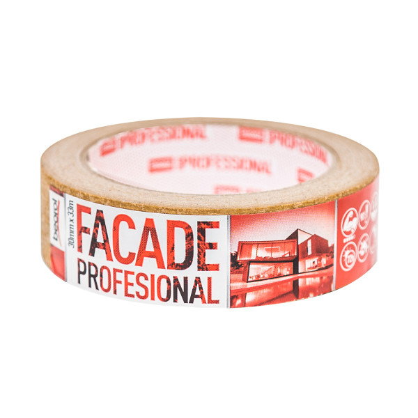 Masking tape Facade Professional 30mm x 33m, 90ᵒC