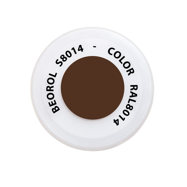 Spray paint Brown Seppia RAL8014