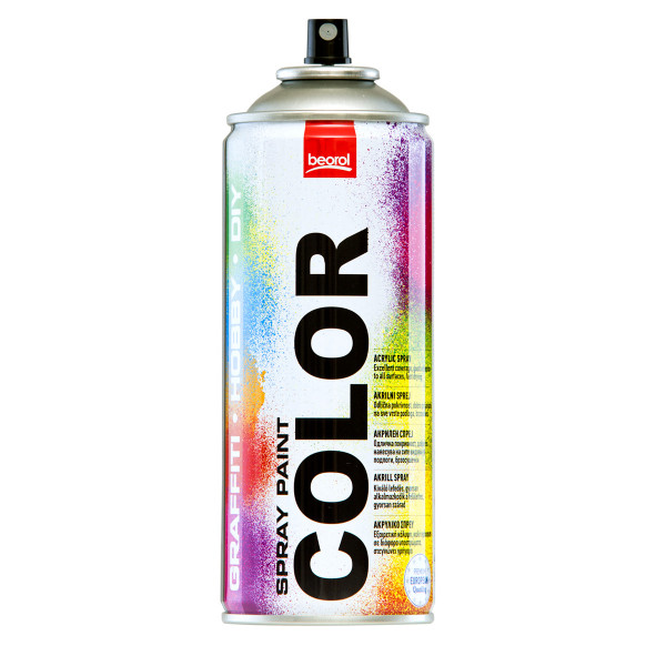 Spray paint Grey Alluminio Brillante RAL9006