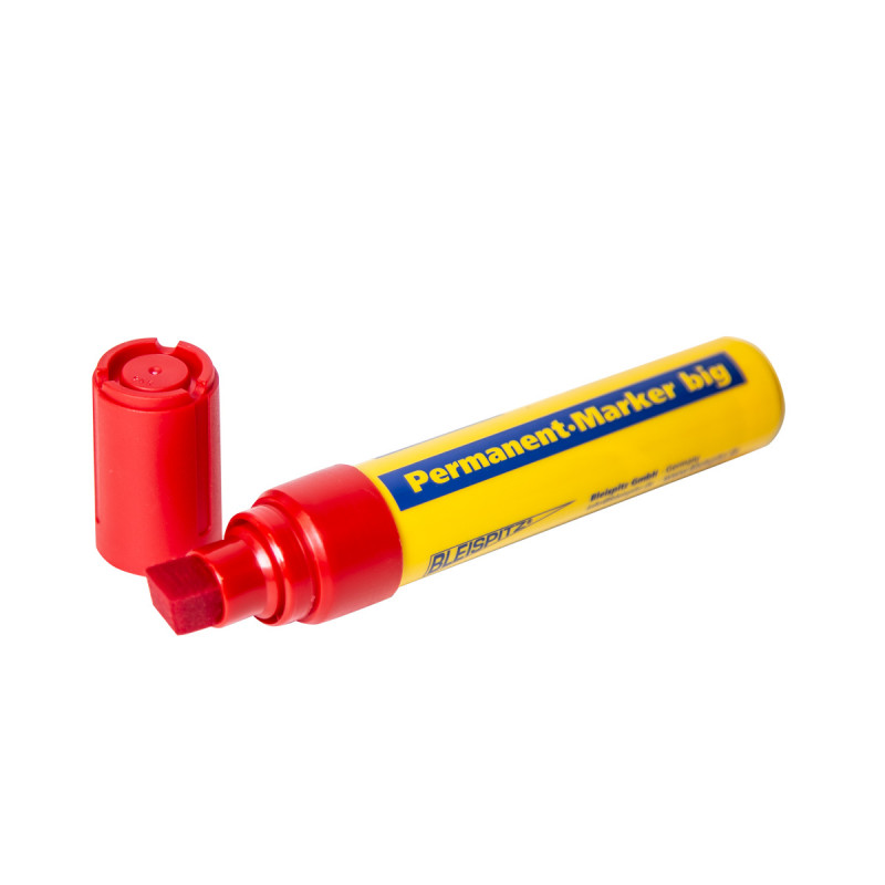 Marker permanent BIG 4-12mm, red