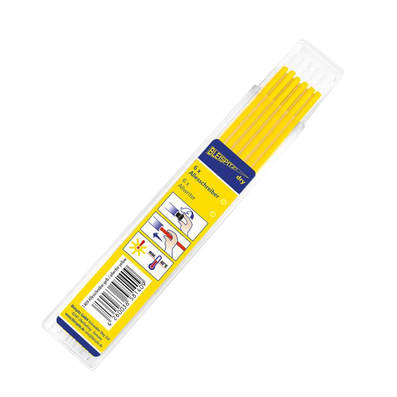 Refills, yellow