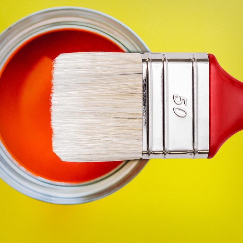 Acrylic brush 50x15
