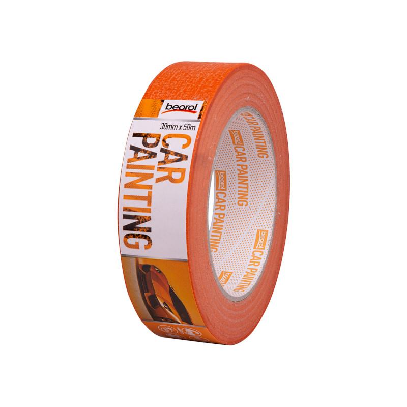 Car-painter masking tape 30mm x 50m, 100ᵒC