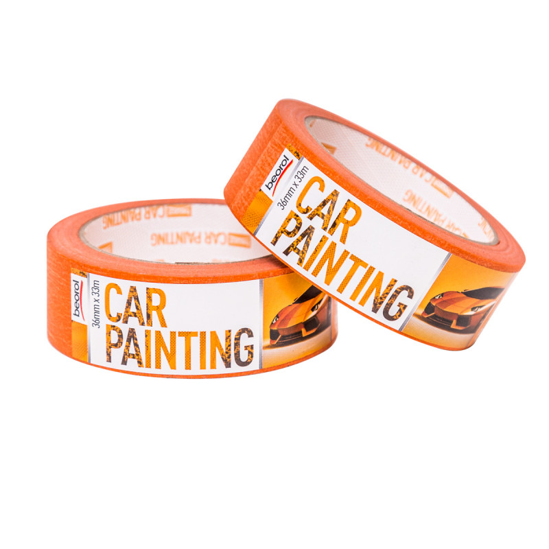 Car-painter masking tape 36mm x 33m, 100ᵒC