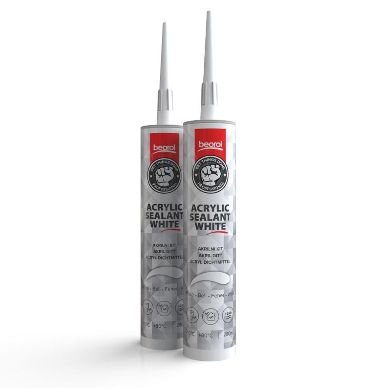 Acrylic sealant 280 ml, white