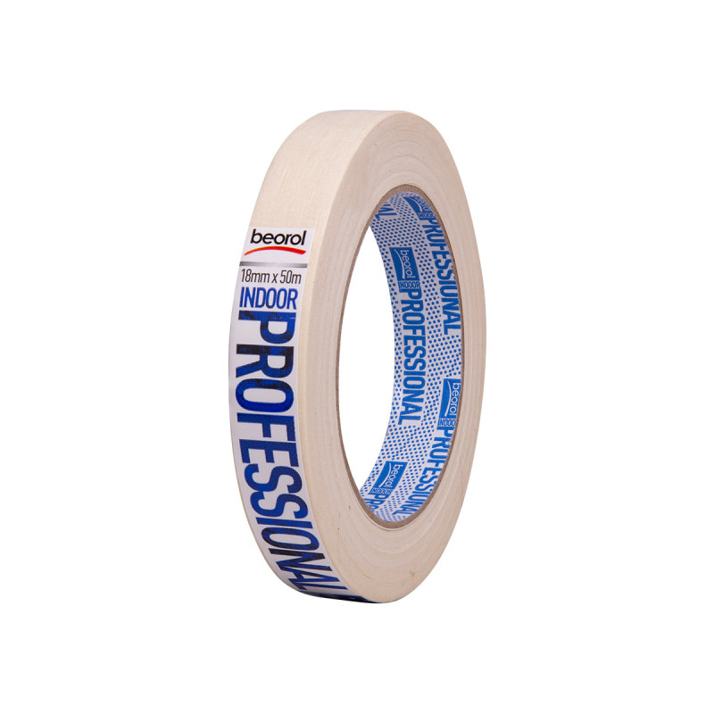 Masking tape Indoor Professional, 18mm x 50m, 70ᵒC