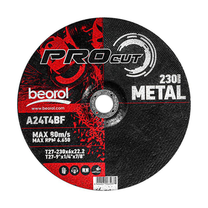 Grinding wheel for metal ø230x6mm