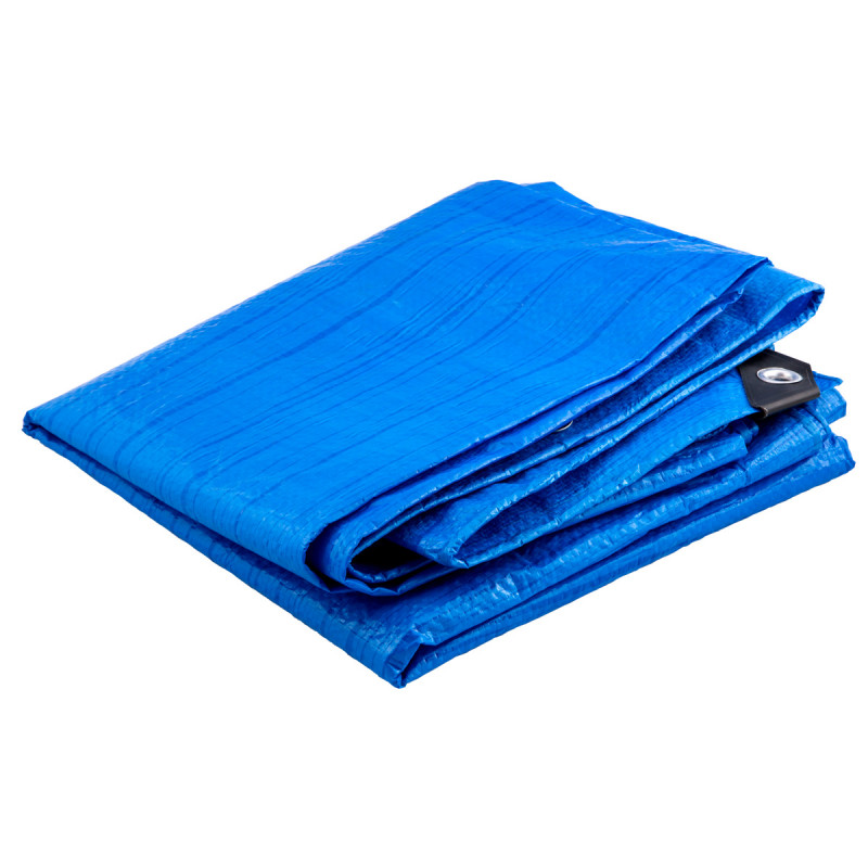 Tarpaulin protective sheet 6x8m / (19,7x26,2 ft)