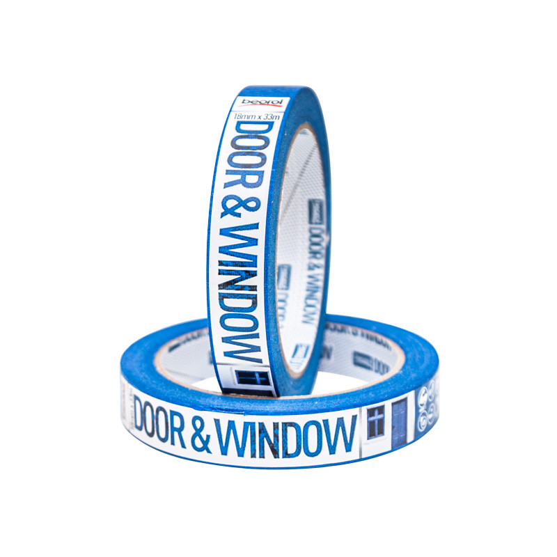 Masking tape Door & Window protection 18mm x 33m, 80ᵒC