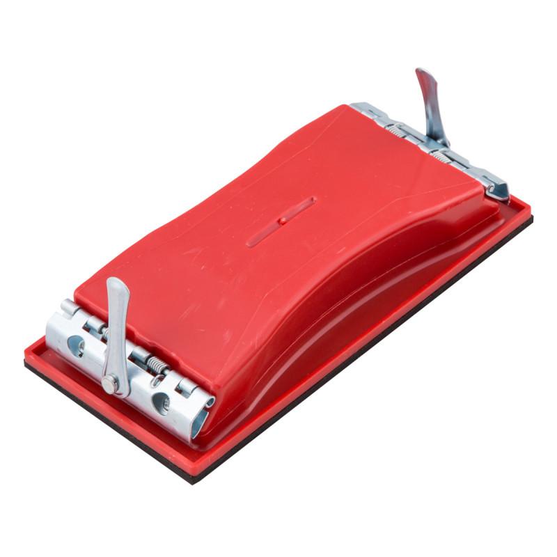 Sandpaper holder with mechanism - large