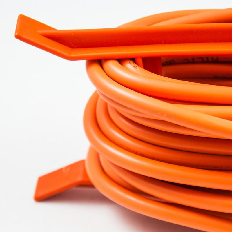 Single portable socket, 30m orange