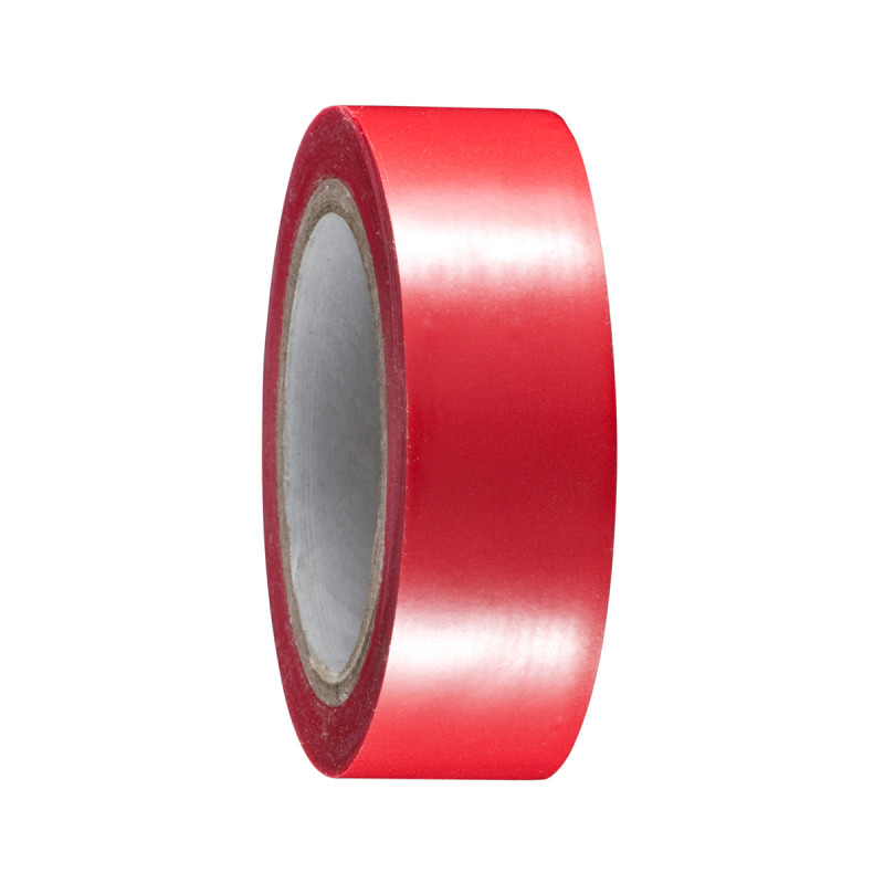 Insulate tape 19mm x 10m, red