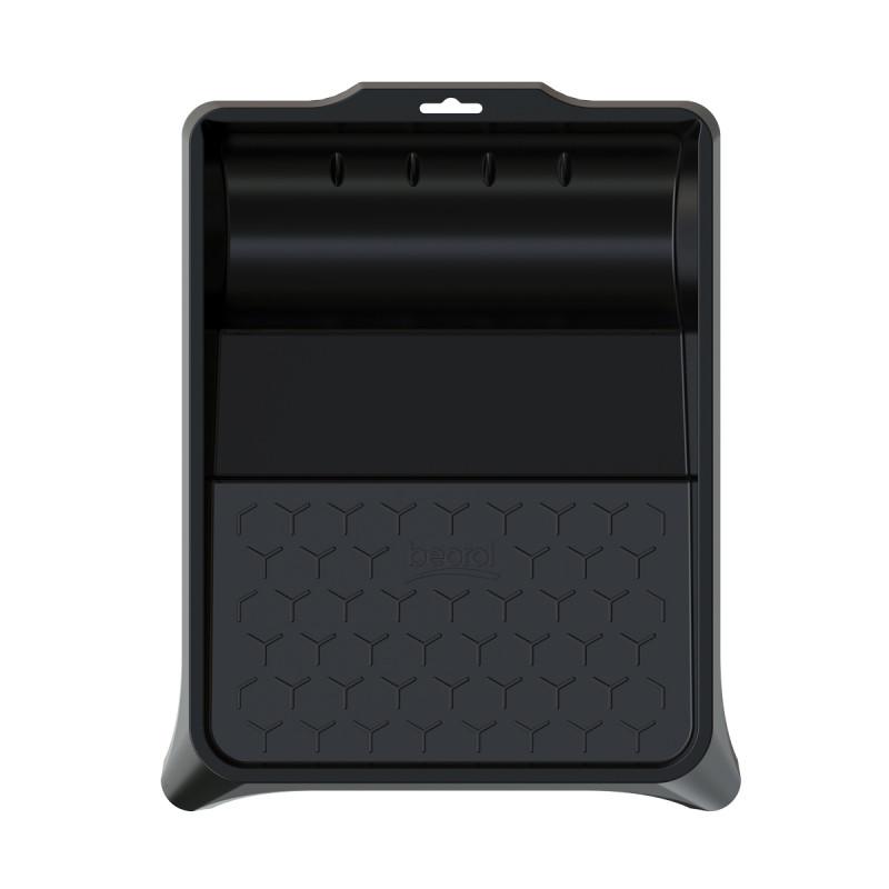 Plastic paint tray 36x26cm, black