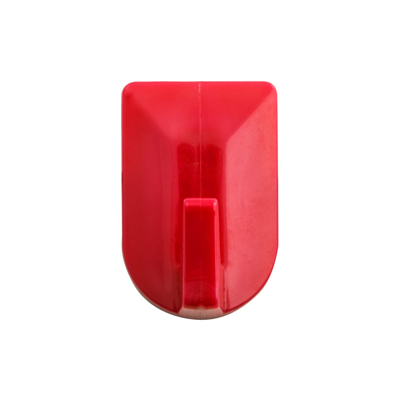 Plastic wall hooks 3/1 red
