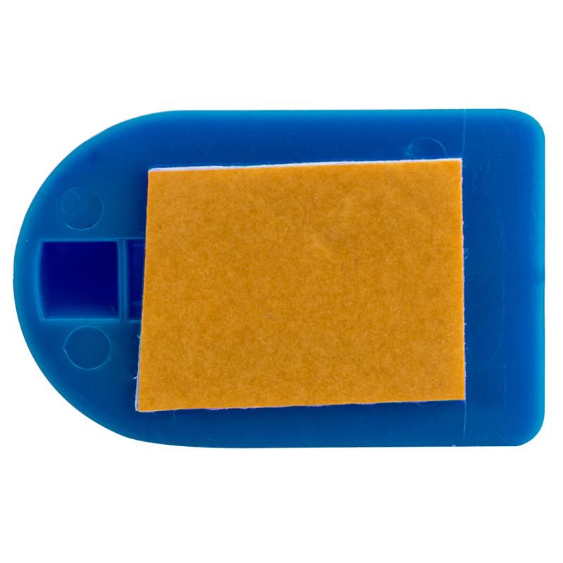 Plastic wall hooks 3/1 blue