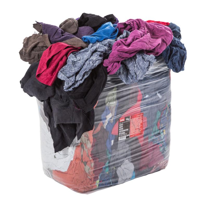 Colored cotton cloths 10 kg