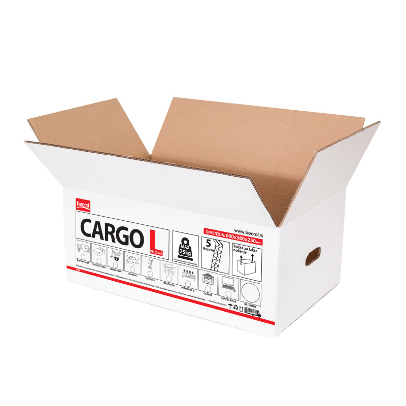 Packaging box cargo L