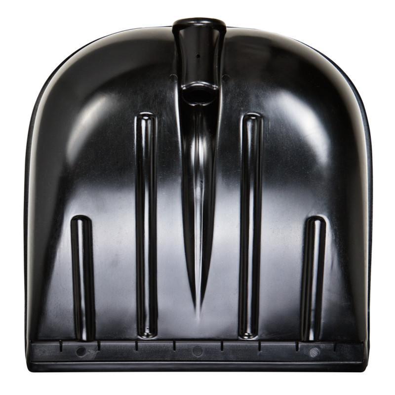 Plastic shovel 40x40cm, black