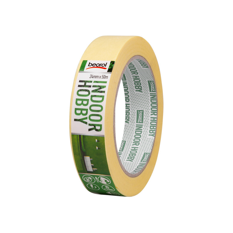 Masking tape Indoor Hobby 24mm x 50m, 60ᵒC