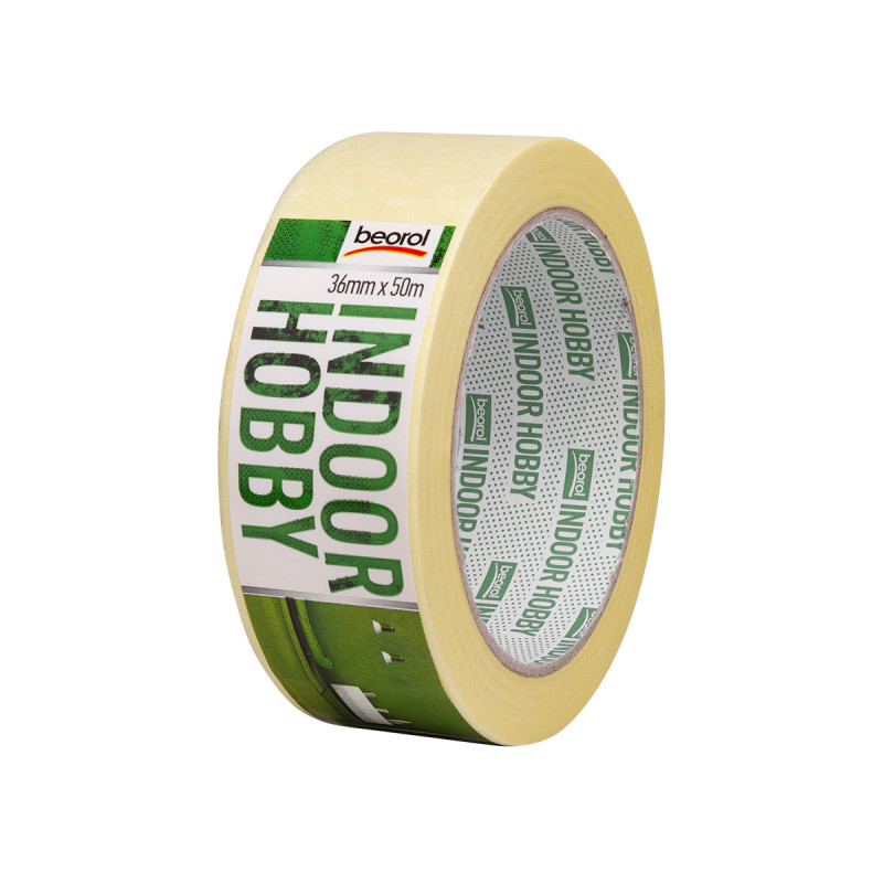Masking tape Indoor Hobby 36mm x 50m, 60ᵒC